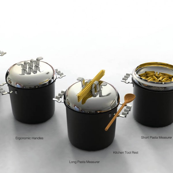 WAVE - Multifunctional Pasta Pot - Special Mention @ ArtZept International Design Award (December. 2012)