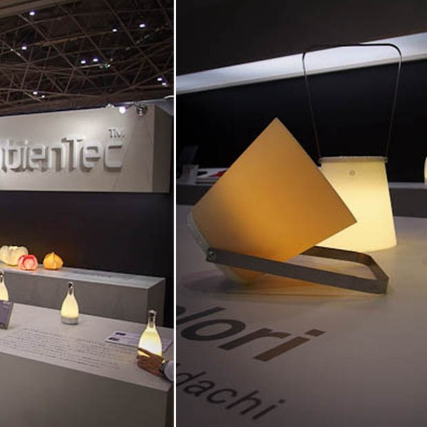 Launching COLORI for Ambientec @ Interior Lifestyle Tokyo (June. 2013)