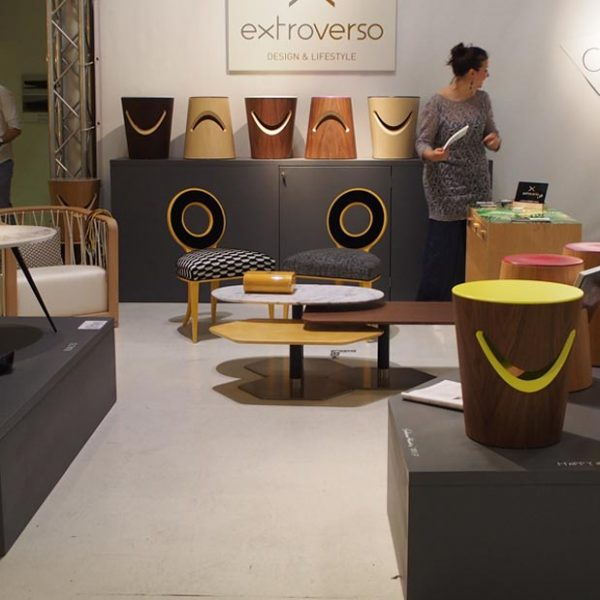Pattern / Happy & Grumpy for Extroverso @ Milan Design Week 2017 (April, 2017)
