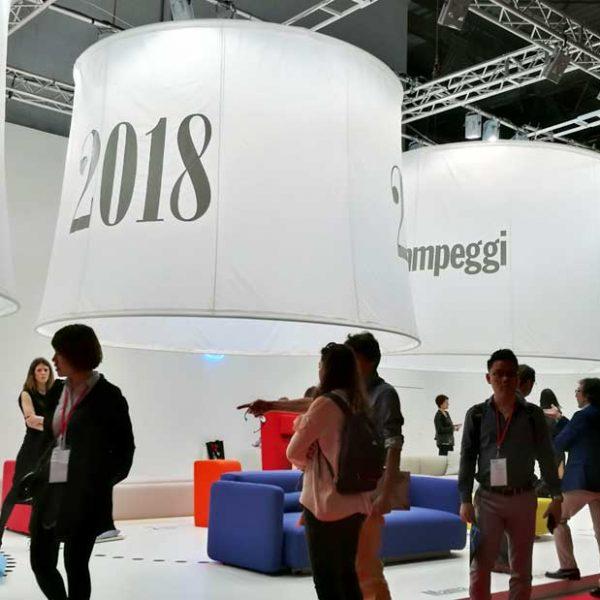 WA for Campeggi @ Milan Furniture Fair 2018 (April, 2018)