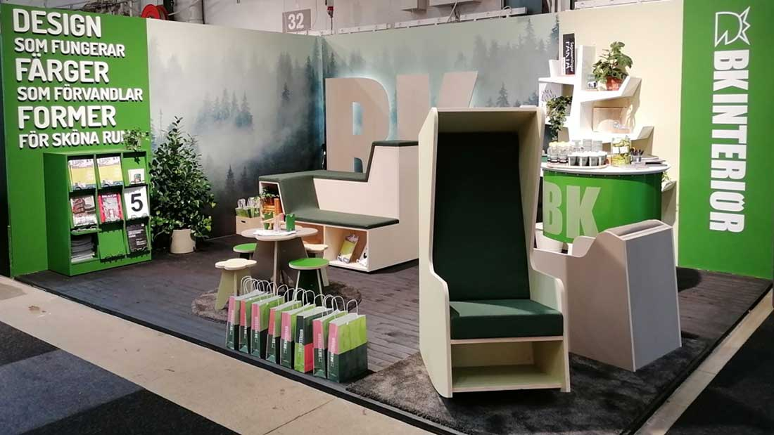 Hop On & Smart Furniture Lounge for BK Interior @ Stockholm Furniture Fair 2020 (February, 2020)