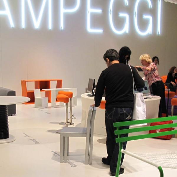 MATRIOSKA and TRICK for Campeggi @ Milan Design Week 2011 (April. 2011)
