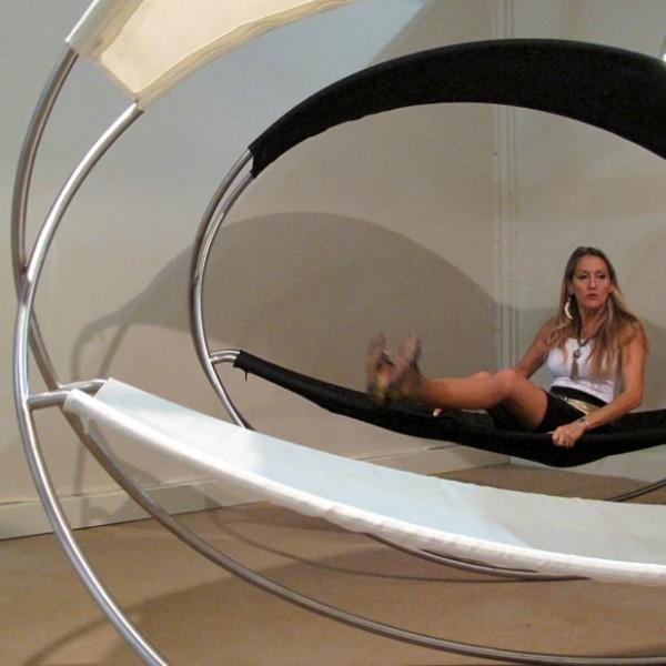 SIESTA - Foldable Rocking Lounger @ SaloneSatellite 2011 (April. 2011)