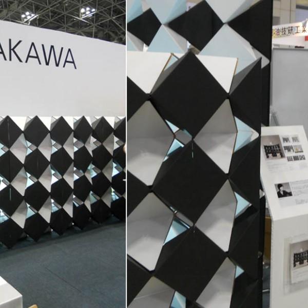 PYRAGO - Modular Carboard System @ Asakawagumi / Logis Tech Tokyo (September. 2012)