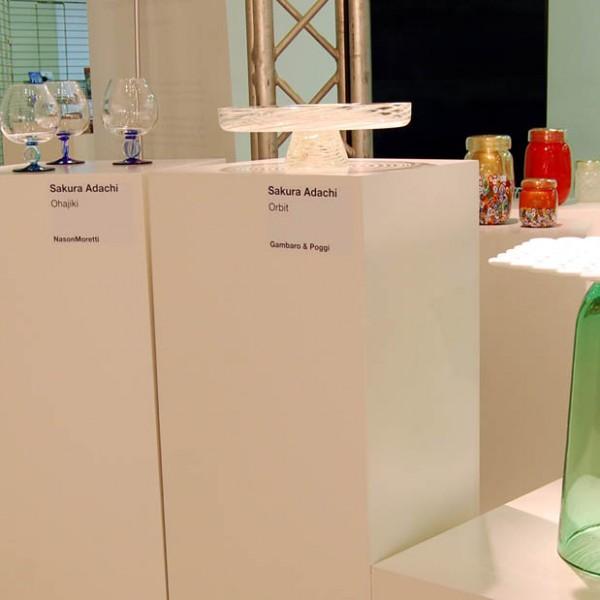 J+I - OHAJIKI / ORBIT / FIOCCO murano glasses @ Milan Design Week 2013 (April. 2013)
