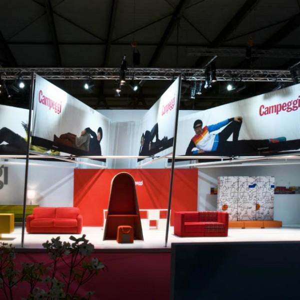 HOME-WORK for Campeggi @ Milan Design Week 2014 (April. 2014)