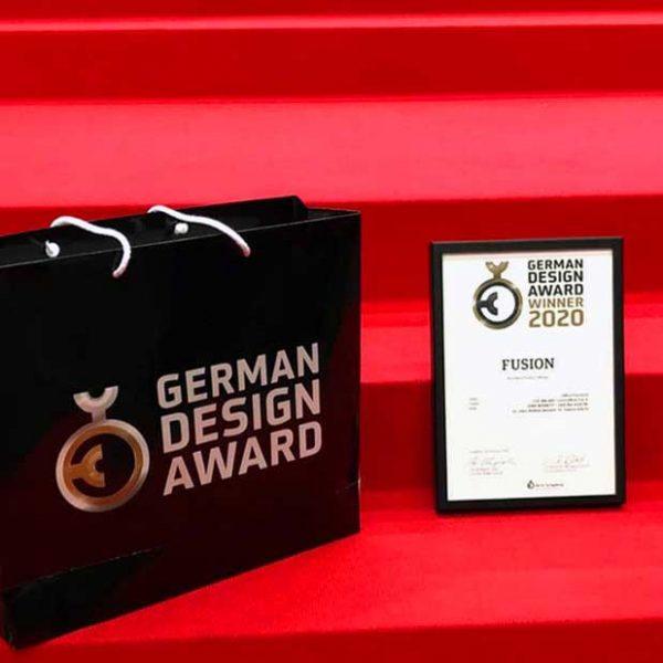 FUSION for CUF Milano @ German Design Award's award ceremony (February, 2020)