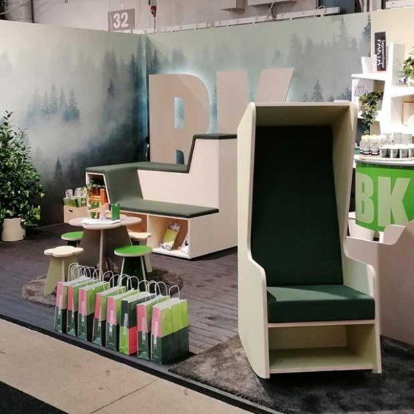 Hop On & Smart Furniture Lounge for BK Interior @ Stockholm Furniture Fair 2020 (February, 2020)